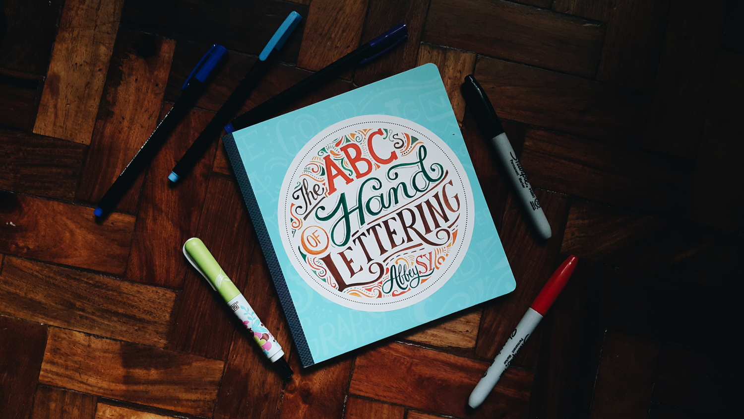 Book Review: The ABCs of Hand Lettering by Abbey Sy