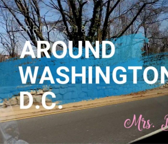 VLOG #2: Walking Around Washington D.C.